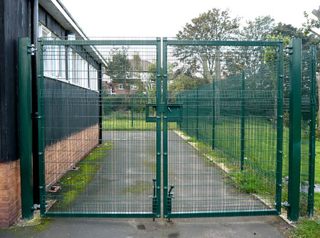 Security Gate and Fencing