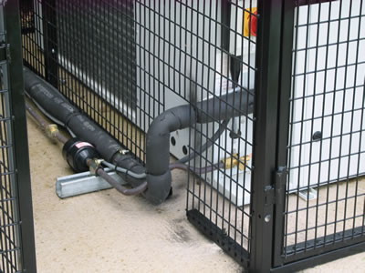air conditioning cages