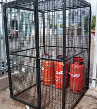 Gas Bottle Cages Amp Storage Weld Mesh