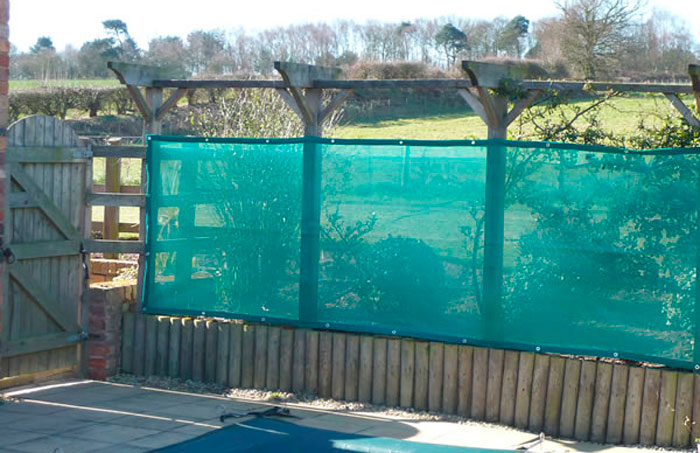 Green Sunshade Netting