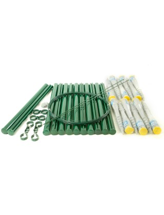 3ft fencing kit for chainlink