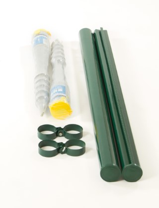 3ft change in direction kit for chainlink fencing