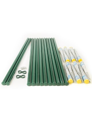 6ft fencing system screw fix for weld mesh
