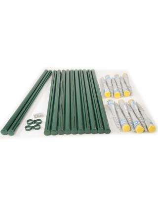 4ft welded fencing kit screw fix