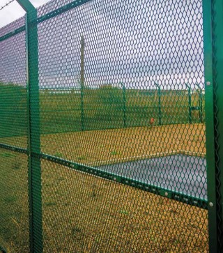 Fastrack green expanded fencing