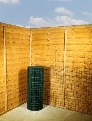 green wire mesh