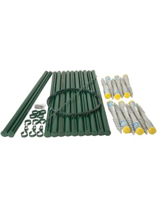 5ft chainlink fencing kit with earth screws