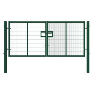 green double gate 1.8x4m
