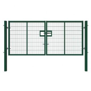 green double gate 2.4m x 4m