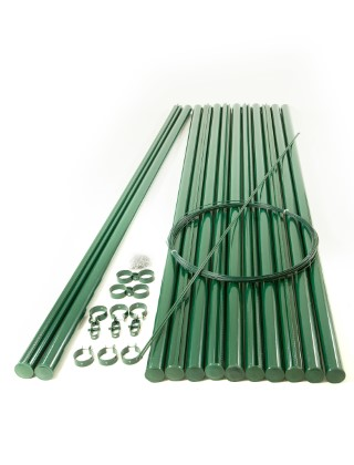 CHAIN LINK POST KIT 72(in); CONC FIX 12 POSTS