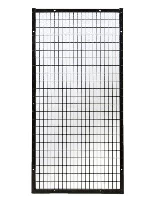 gas cylinder storage panel