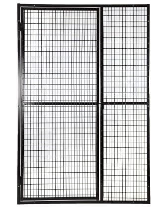 Gas Cylinder Cages Mesh Panel 2x1x3 5mm 1800 X 1200 Door