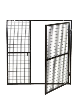 gas bottle cage door open