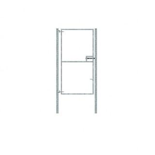 single galv gate 1.2x2.44