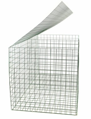 gabion basket Green Pvc 3mm 2m x 1m x 1m