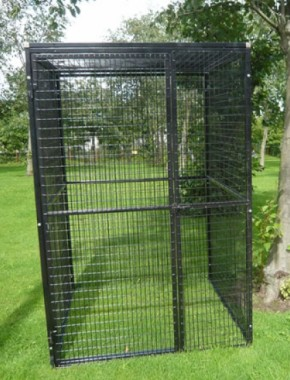 Metal Aviary 4ft x 4ft x 6ft high