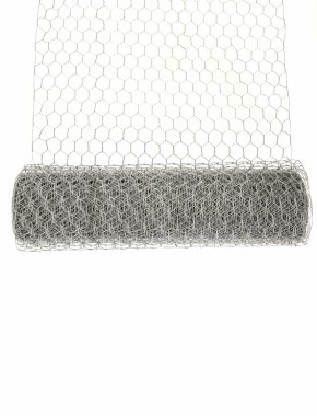 galvanised rabbit netting 600mm x 30m rolled out