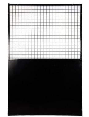 Dog Run 1800 x 1200 Half solid panel