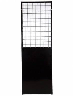 Dog Run 1800 x 600 Half solid panel