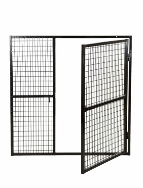gas bottle cage door open ...  sc 1 st  Gabion Baskets & Gas Cage Mesh Panel 2X1X3.5Mm 1200 X 1200 Door