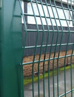 Security fencing 1800 x 2500