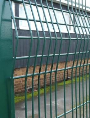 Security fencing 2350 x 2500